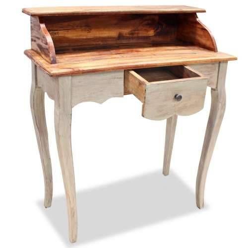 Pisaći Stol Masivno Obnovljeno Drvo 80x40x92cm