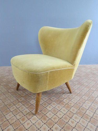 sch ner alter 50er 60er rockabilly retro cocktailsessel sessel vintage ebay sessel. Black Bedroom Furniture Sets. Home Design Ideas
