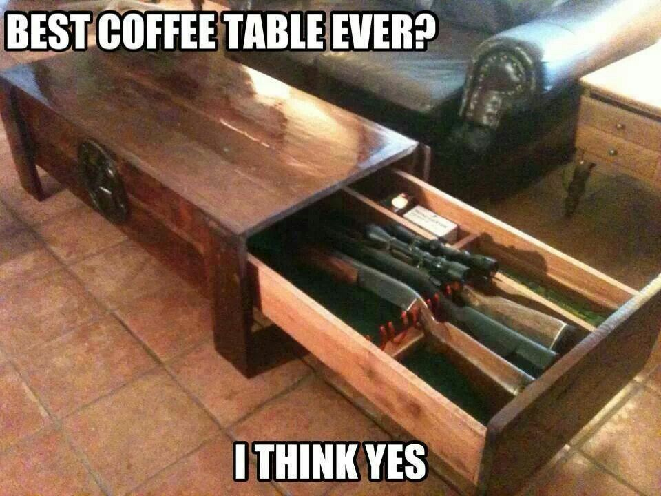 Hidden Gun Cabinet Coffee Table Plans.9 Unusual Hidden Gun Safes To Keep Your Firearms Secure