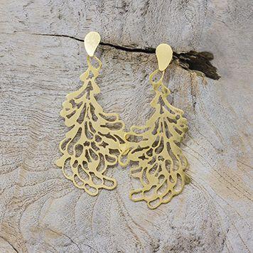 Earrings from my favorite colombian jewelry designer! ARETES  RAMITA