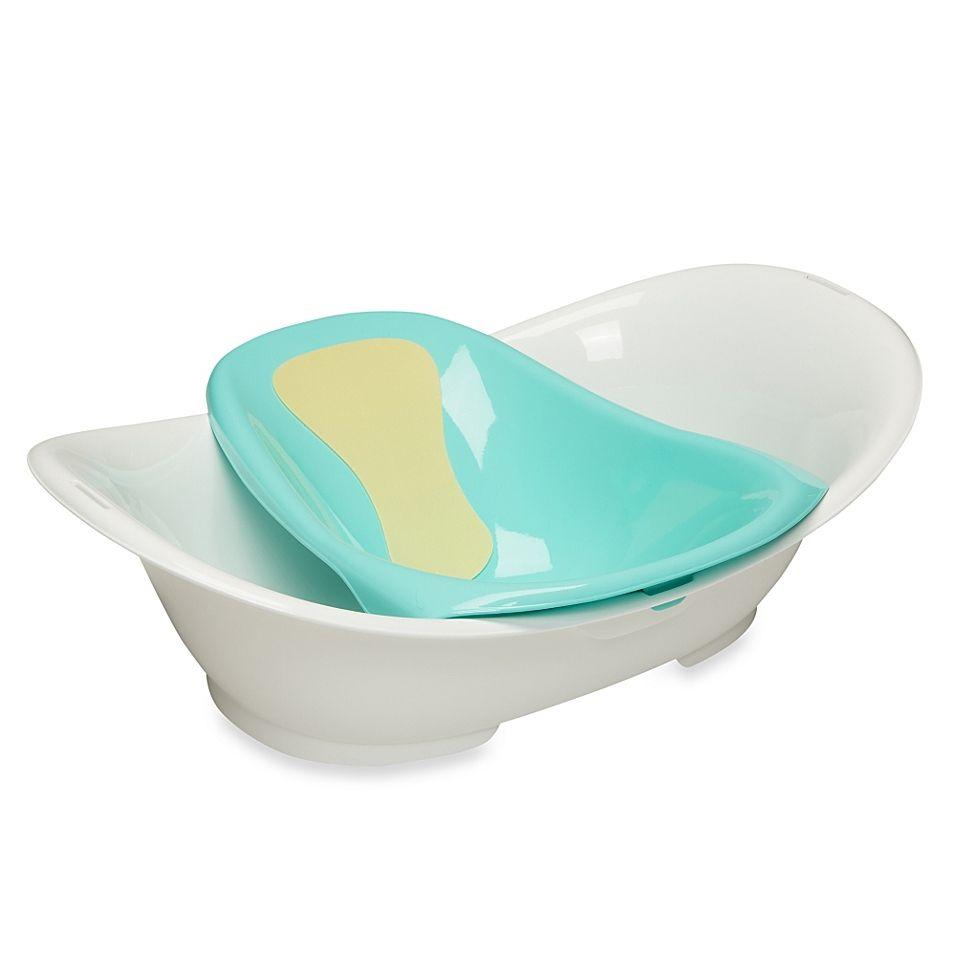 Safety 1st Custom Care Modular Bath Tub Center White Blue Baby