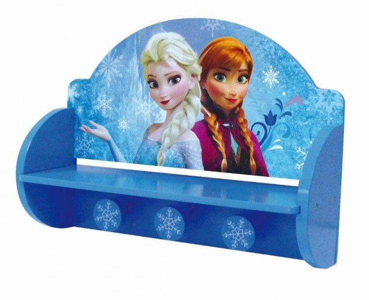 Camerette Disney ~ Appendiabiti portalibri mensola in legno frozen disney cameretta