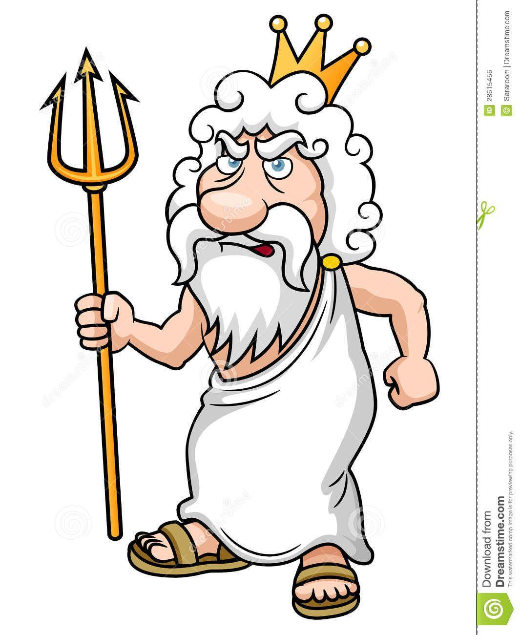 Boze Cartoon Griekse Goden Dingen Om Te Tekenen Grieks
