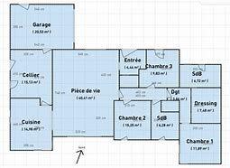 Résultat Dimages Pour Plan Maison Plain Pied Avec Piscine