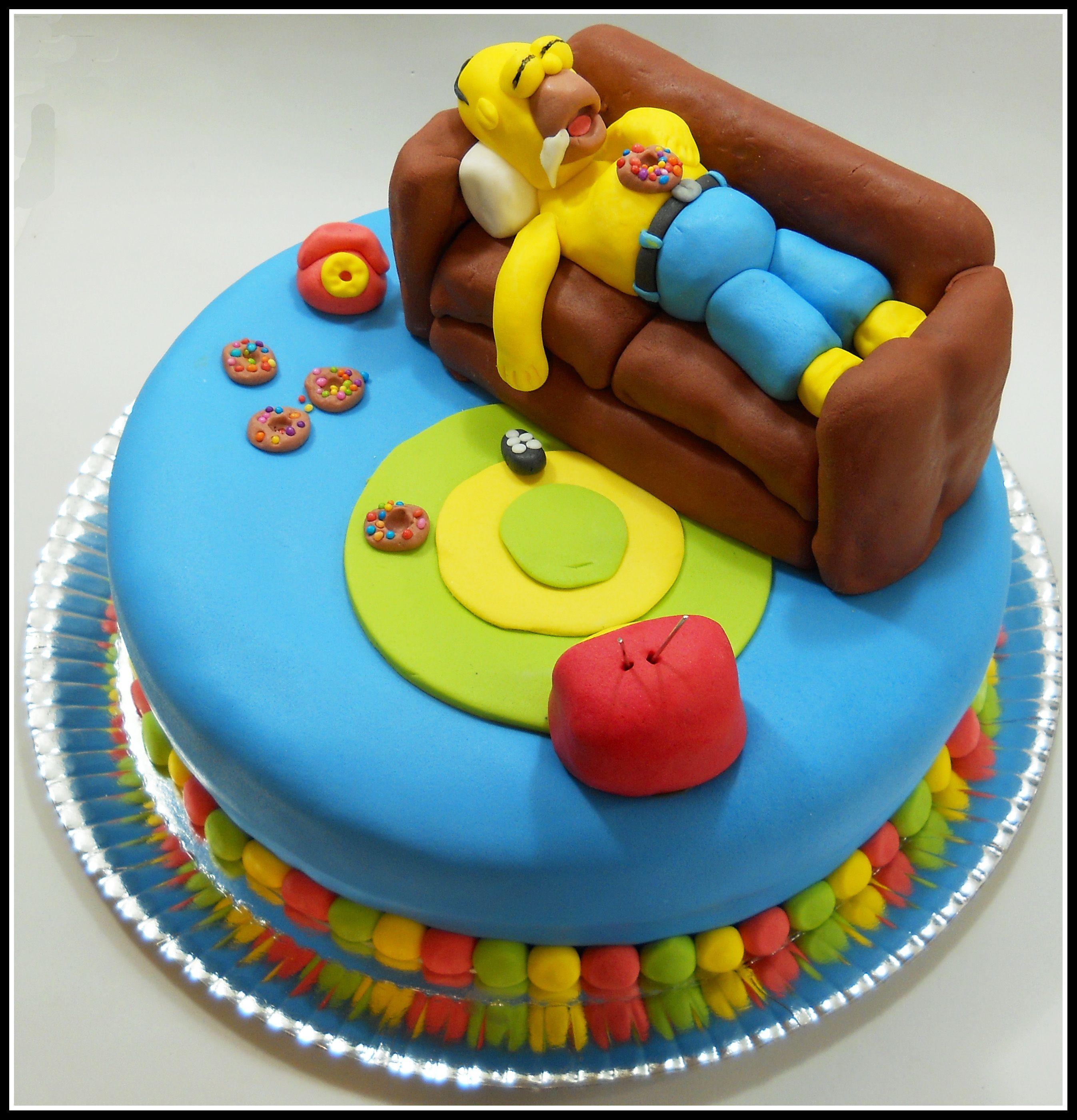 Torta Homero para Nico