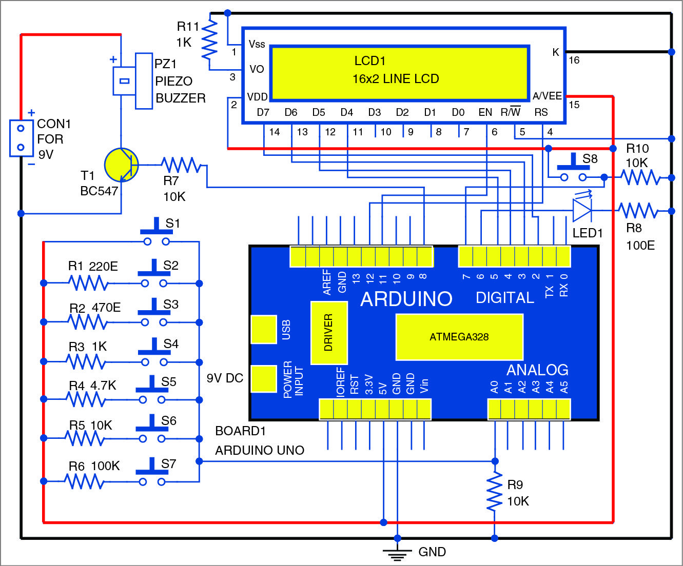 Electronic Tone Generator System Generators Arduino And Circuits Diagramelectronics