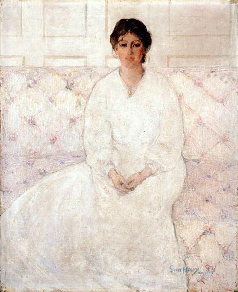 Grace Henry - Girl in white (1910 - 12)