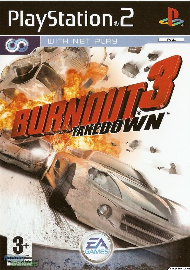 Burnout 3 Takedown Playstation Games Playstation 2 Playstation