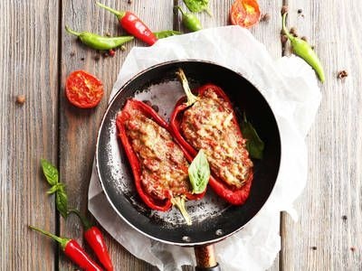 Photo of Sweet and Spicy Stuffed Peppers-Sweet and Spicy Stuffed Pepp…