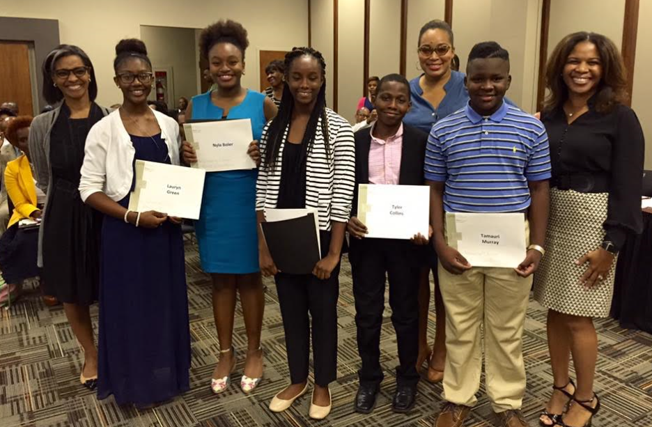 Uab And Operation Hope Inc Recently Honored Five Gear Up Students From Birmingham City Schools For Their Outstanding Busine Birmingham City Birmingham Student