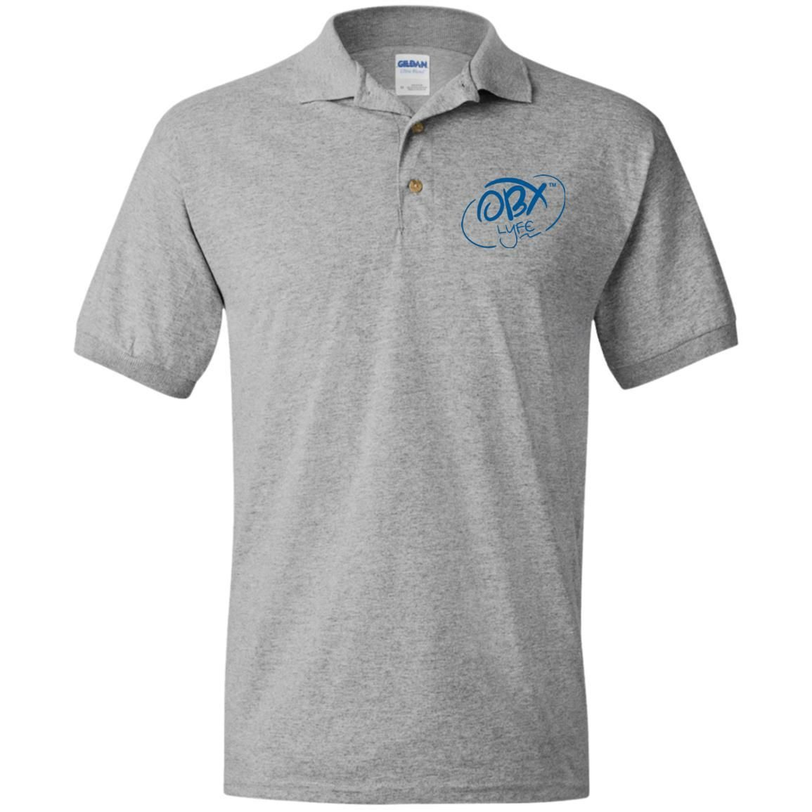 Ocean Blue OBX Lyfe Jersey Polo Shirt in 10 Colors