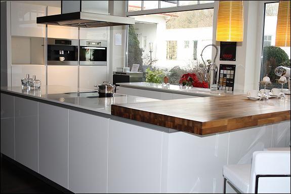 Wir bauen um - Design Küche EWE Vida Acryl weiß Hochglanz Wohnen - küchenzeile weiß hochglanz