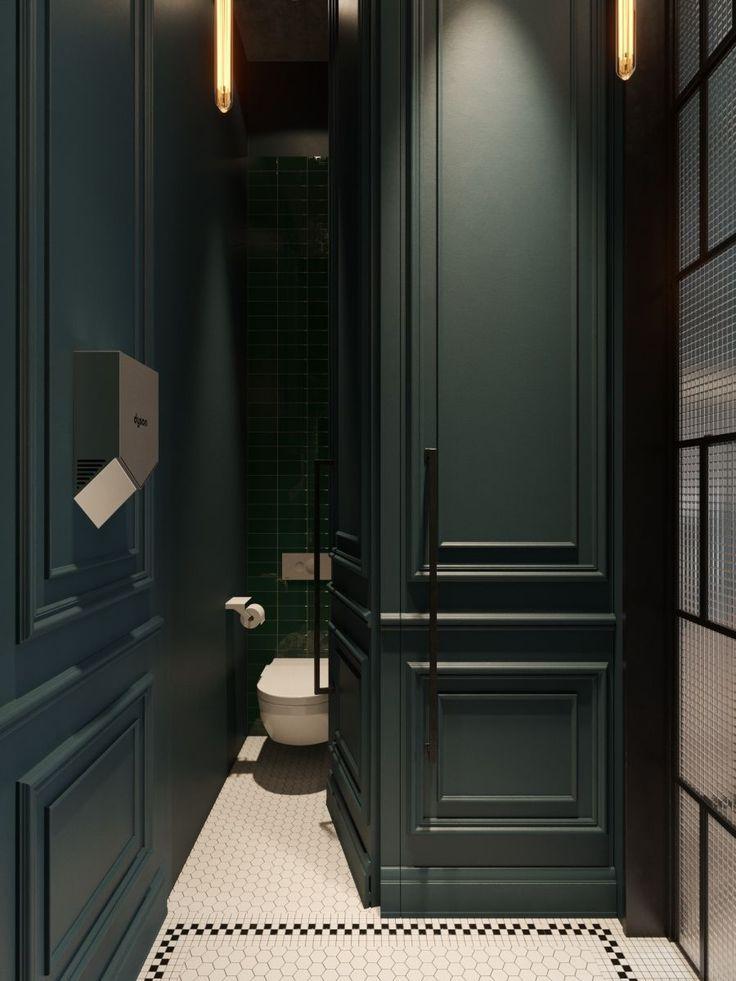 10+ Beautiful Breathtaking Powder Room Ideas #modernfarmhousestyle