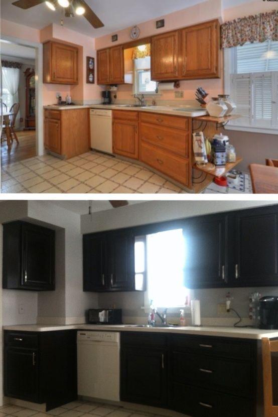 diy jewelry cabinet | ... Espresso Gel Stain Old Kitchen ...