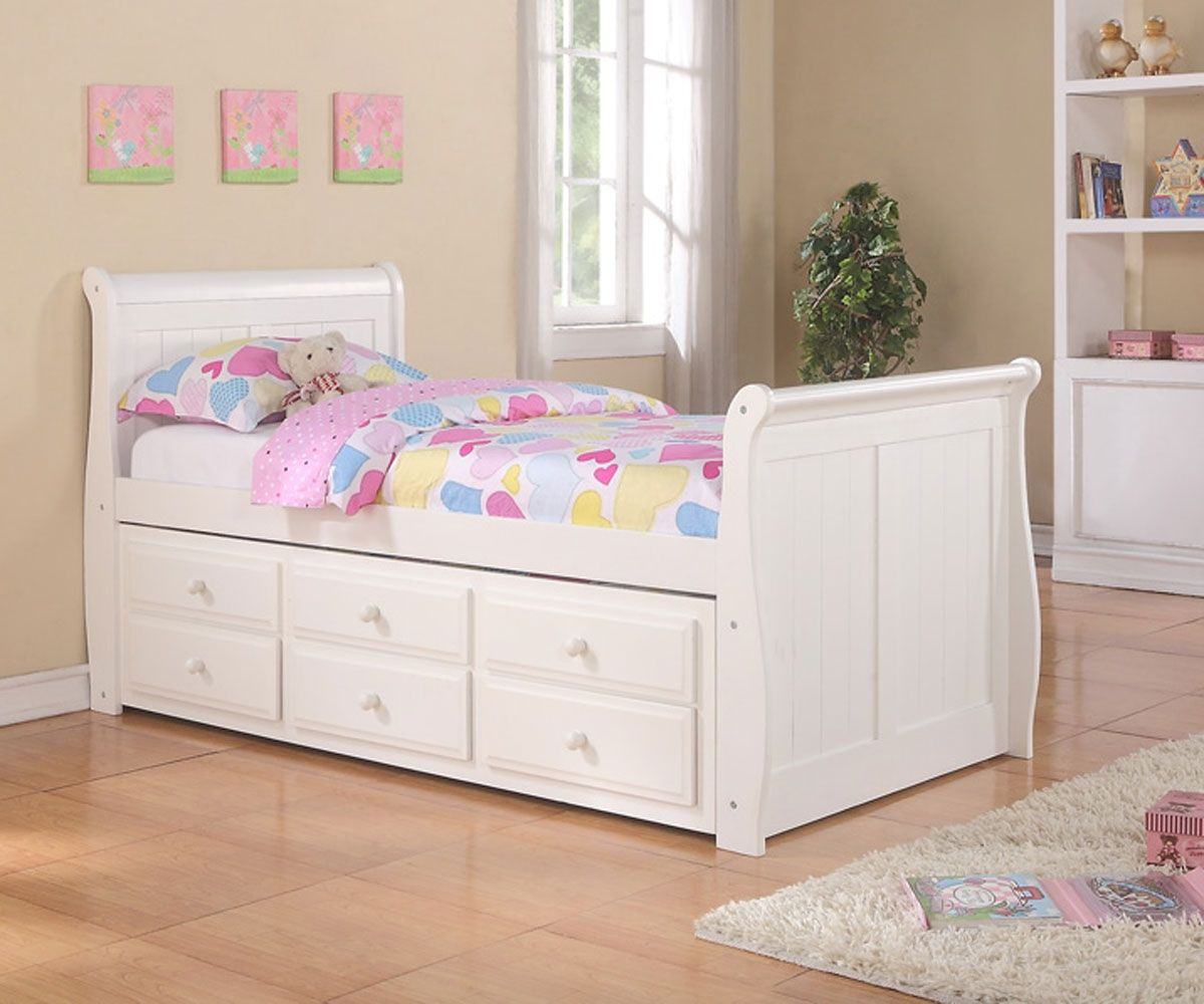 Bedroom Furniture Orlando the fancy white trundle bed for modern looks on your bedroom