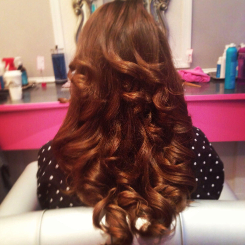 Beautiful blow out 👌 Hair styles, Long hair styles, Cute