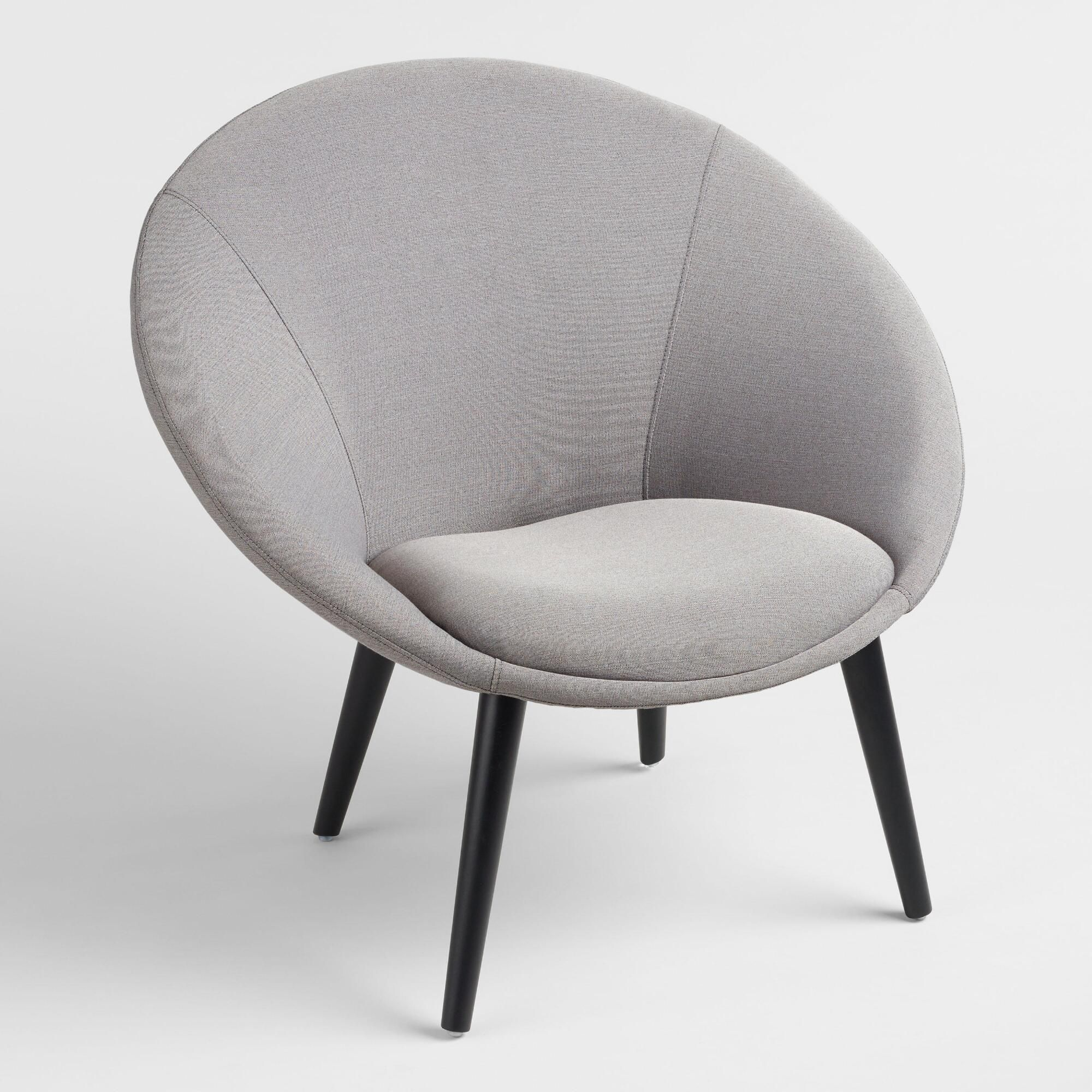 Gray Upholstered Dean Chair by World Market & Gray Upholstered Dean Chair by World Market | Products