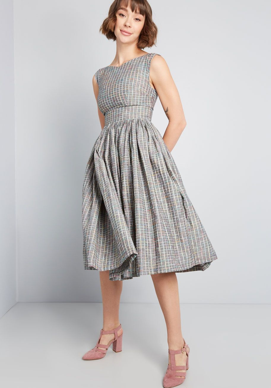 Fabulous Fit And Flare Dress With Pockets Fit And Flare Dress Flare Dress Fit And Flare