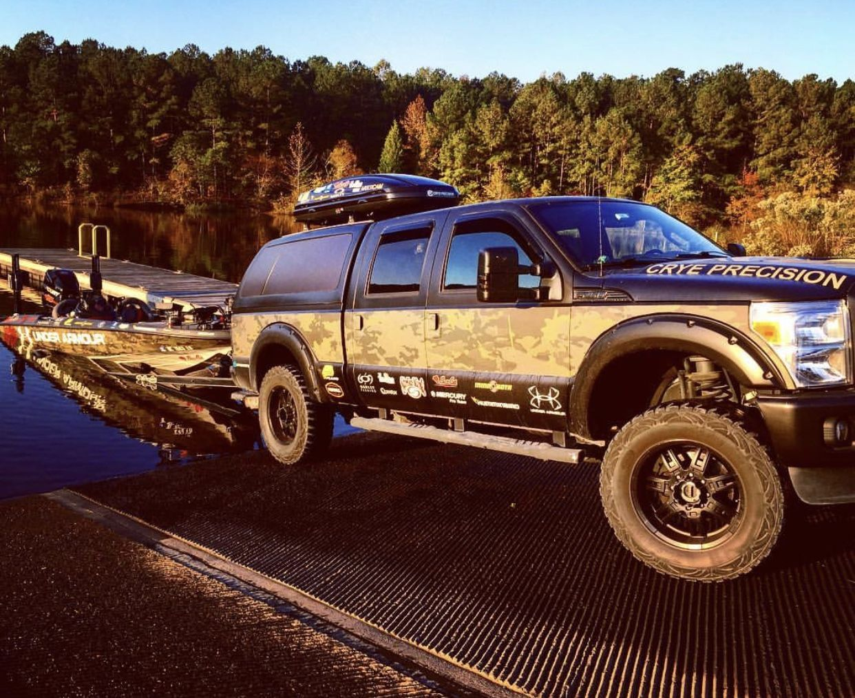 multi cam bass fishing ford rig ford pickup toy boat cars trucks pinterest