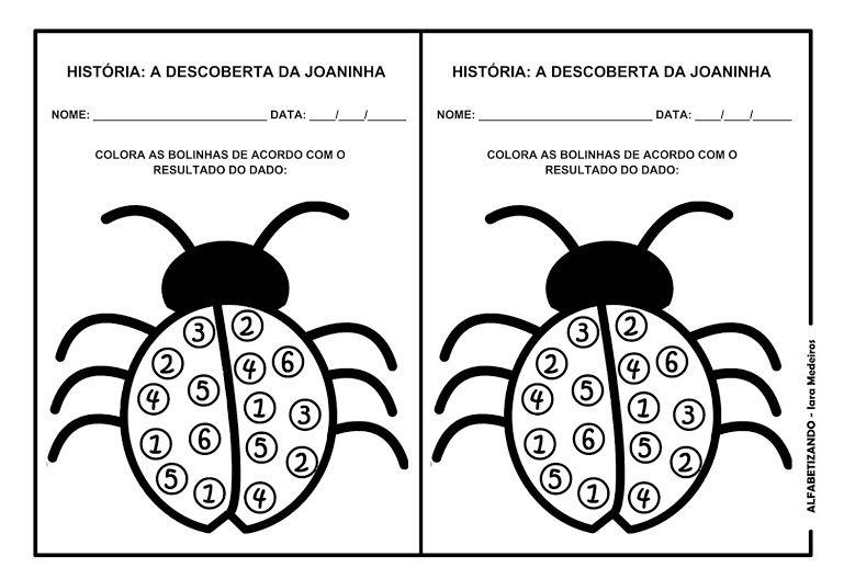 A Descoberta Da Joaninha Joaninha Trabalhar Com Criancas