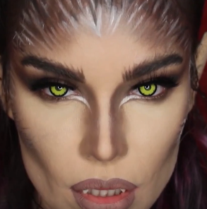 45+SEXY HALLOWEEN MAKEUP LOOKS THAT ARE CREEPY YET CUTE #fallmakeuplooks