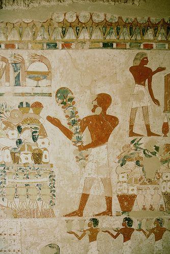 Tumba del escriba Menna : Sheikh Abd el-Qurna TT69 , Luxor Tumba de un noble escriba. Tutmosis IV ? | por Soloegipto