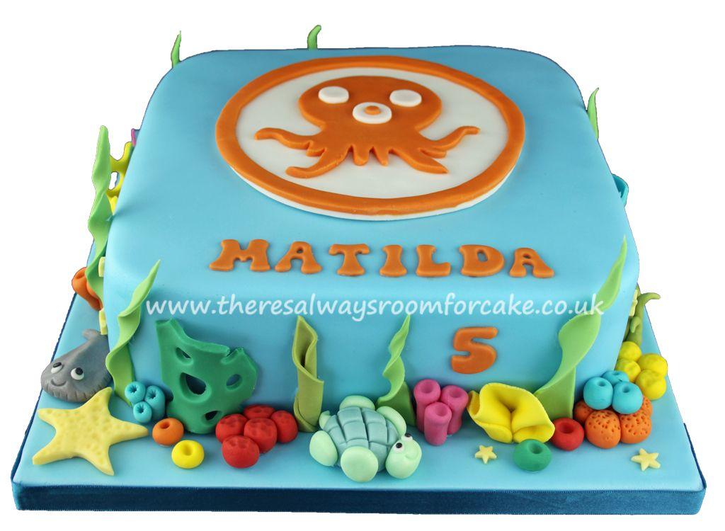 Octonauts Birthday Cake octonauts Pinterest Birthday cakes