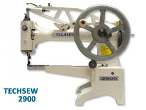 Techsew 2900, 12 Arm, 1.2 Cylinder bed, Shoe repair, Leather patch, Machine, Stand, servo Motor, 360° Top Feed, 1/2 Foot Lift, Hand Crank