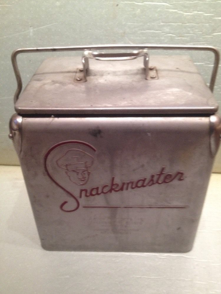 Vintage Snackmaster Cooler  By Acton Products, Inc  | Picnic