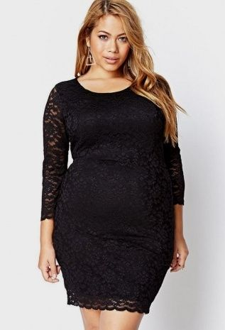 Long Sleeve Lace Dress Forever 21