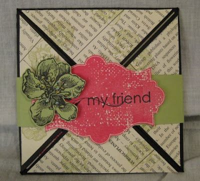 Stamp & Scrap with Frenchie: Everything Eleanor and Diagonal