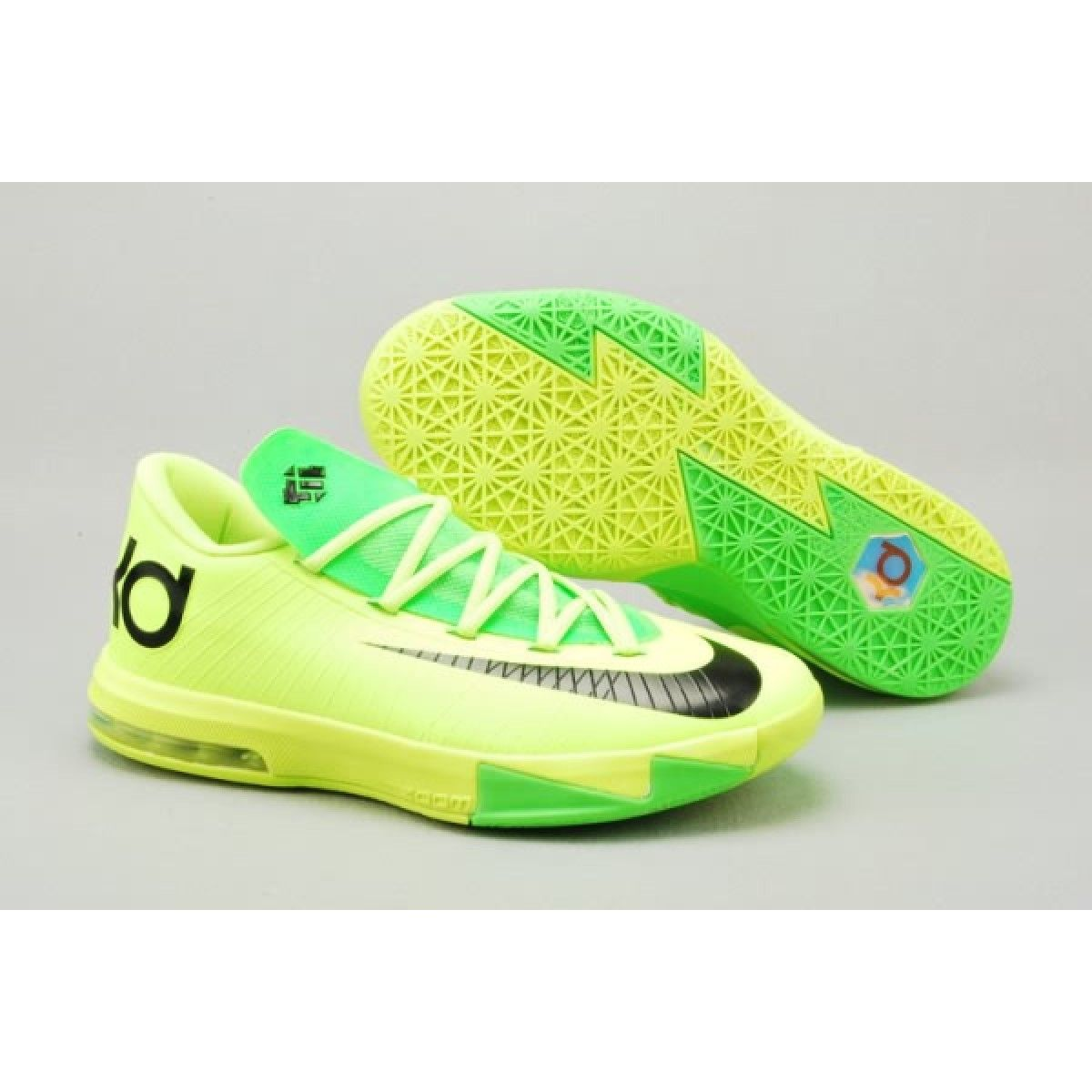 Nike Zoom Kevin Durant's KD VI Low Women's Basketball shoes Green/Black on  sale for