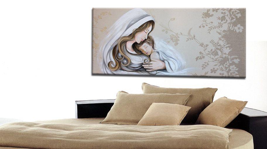 capezzali moderni dipinti olio su tela   faberarte   pinterest ... - Capezzali Per Camera Da Letto