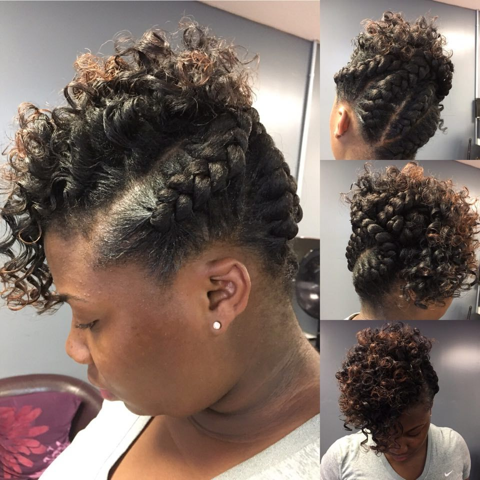This Is A Nice Updo Black Hair Updo Hairstyles Medium Natural Hair Styles Natural Hair Styles