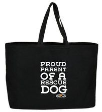 Proud Parent of a Rescue Dog Jumbo Tote