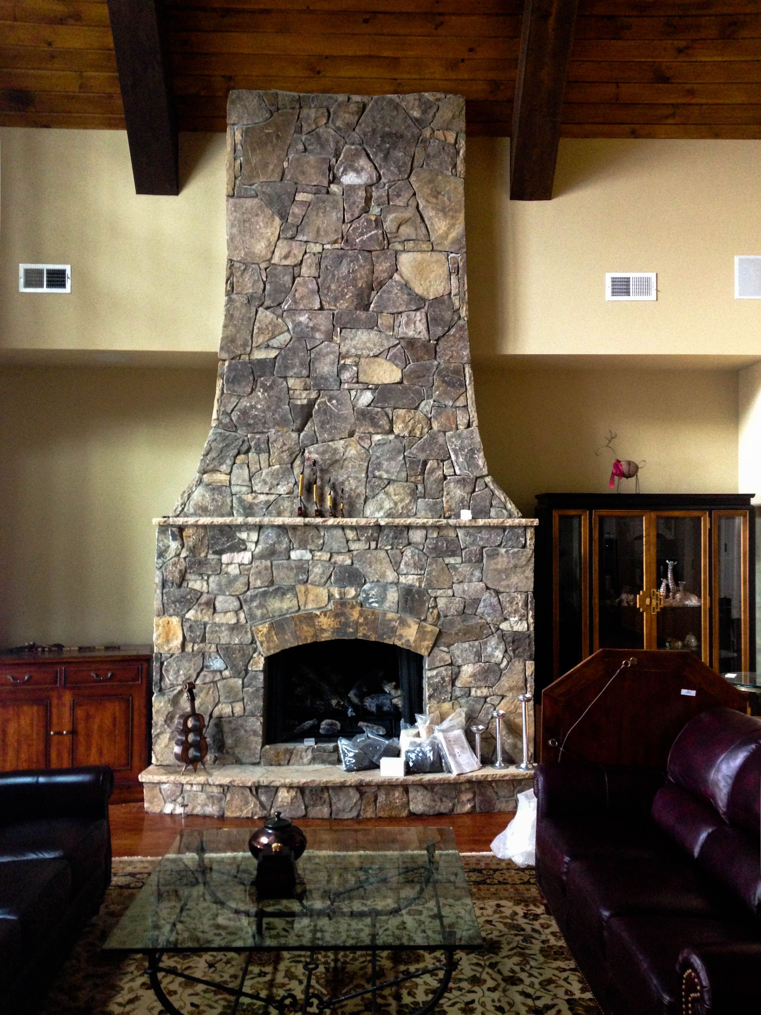 pin by helen moore on stone fireplaces pinterest stone