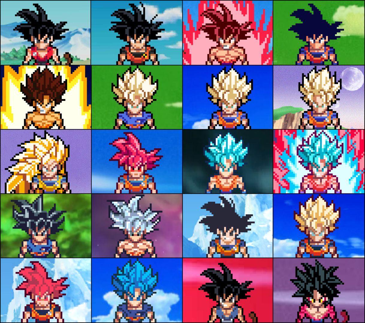 Evolution Of Son Goku Ulsw By Songoku0911 On Deviantart Dragon Ball Artwork Dragon Ball Art Dragon Ball Wallpapers