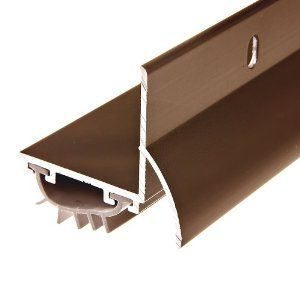 Frost King U36brh Drip Cap Door Bottom 1 3 8 Inch By 36 Inches Bronze By Frost King 12 47 From The Manufacturer Door Sweep Home Hardware Door Design