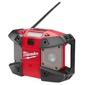 Milwaukee M12 12 Volt Lithium Ion Cordless Job Site Radio Tool Only 2590 20 The Home Depot Site Radio Milwaukee Radio
