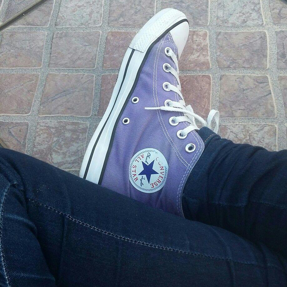 d898b836678 All star converse lilás... Cor