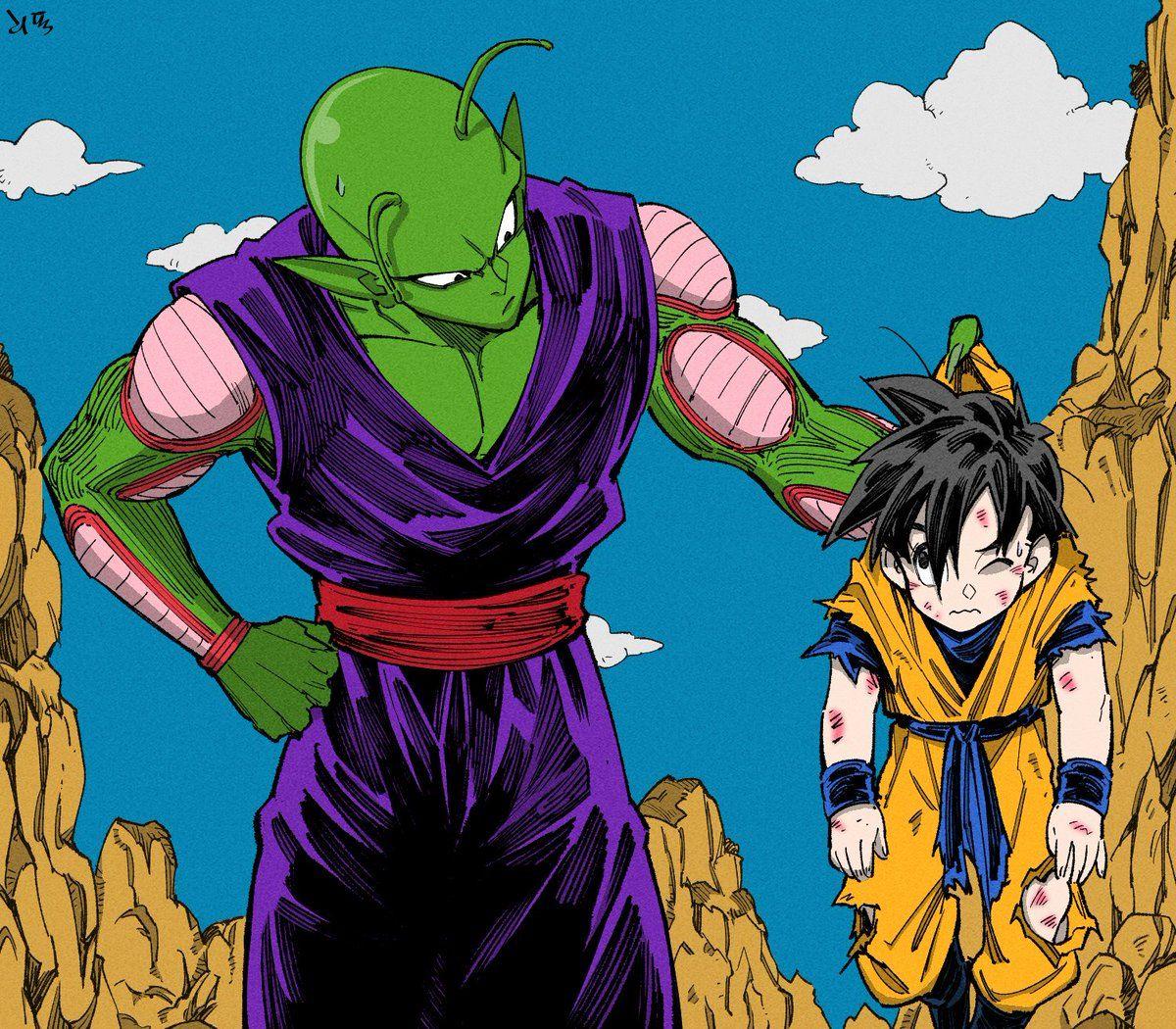 Dragon Boule On Twitter Hi Dragonball Fanfic Manga Gohan Videl Sfw