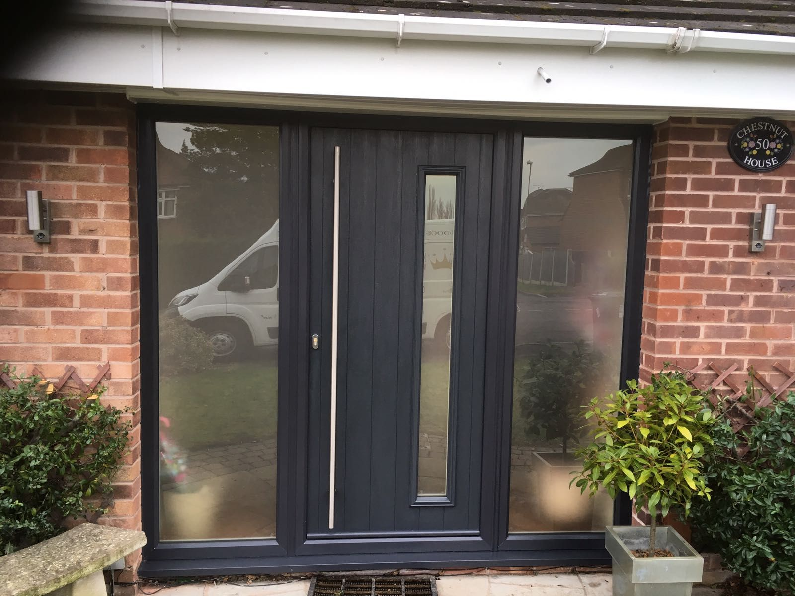 Anthracite grey brescia solidorltd composite door from for Composite windows