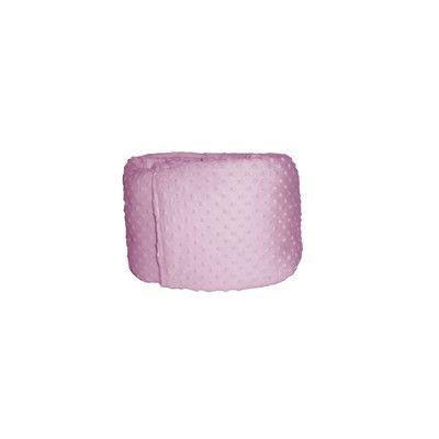 BabyDoll Bedding Heavenly Soft Crib Bumper Color: