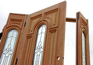 Incroyable Wood Double Door Astragal