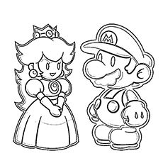 top 20 free printable super mario coloring pages online game characters pinterest. Black Bedroom Furniture Sets. Home Design Ideas