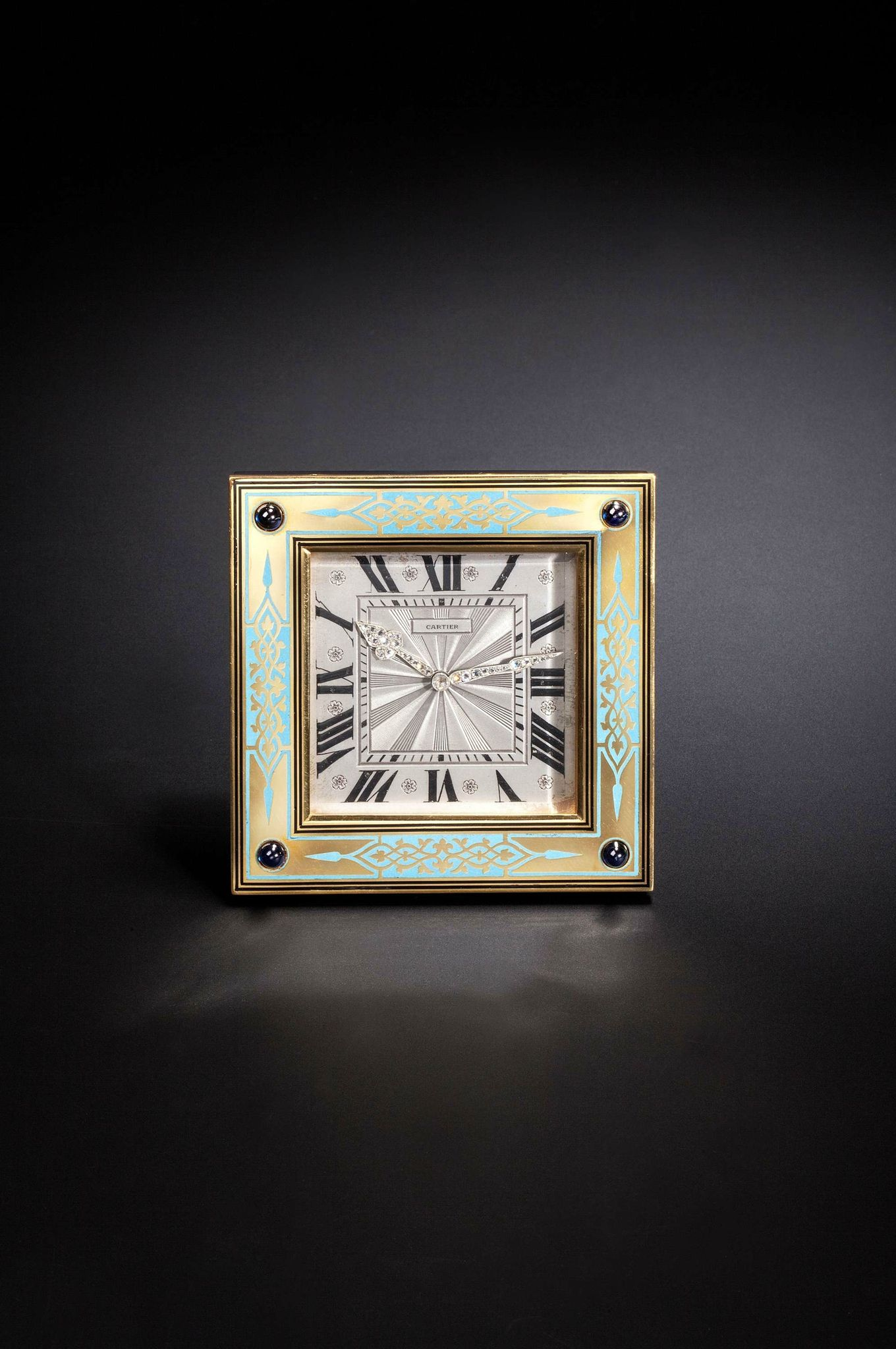 Arts Deco Paris Cartier Art Deco Clock Paris 19201 Art Objects