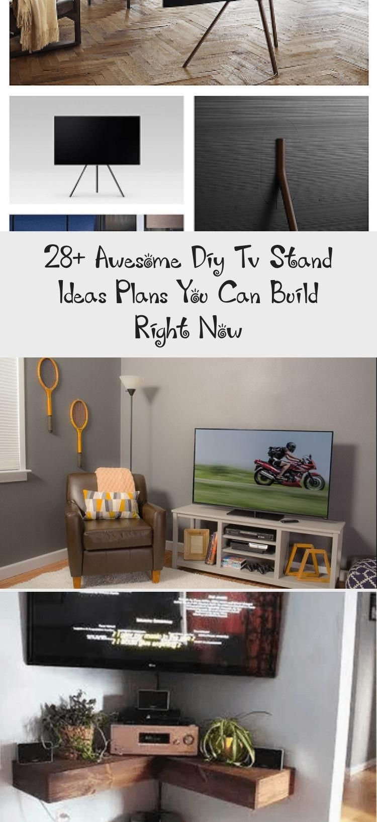 28 awesome diy tv stand ideas plans you can build right