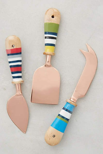 Mariner Cheese Knives - anthropologie.com