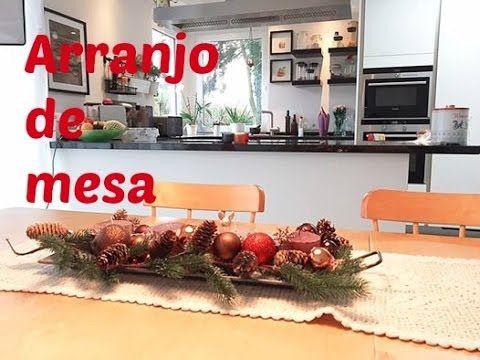 Diy Especial de Natal | Arranjo de Natal Gastando Pouco #projetodenatal | Carla Oliveira - YouTube