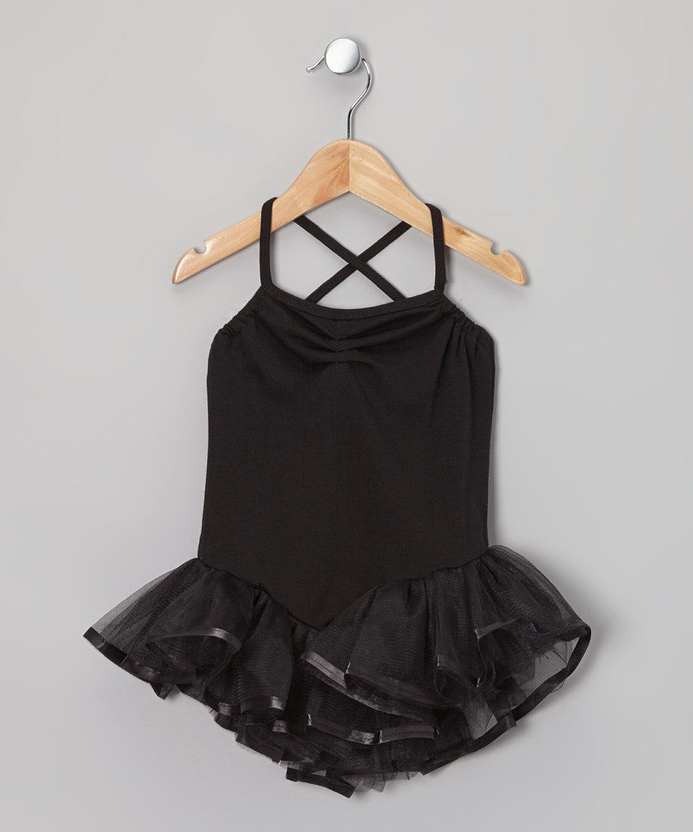 905fc0f33 Look at this Black Ballerina Tutu Leotard - Toddler